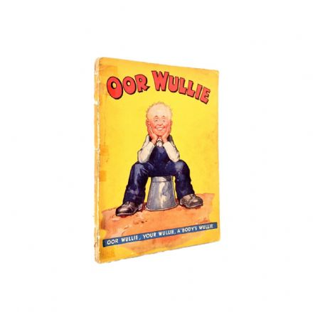 Oor Wullie 1941 First Annual DC Thomson Dudley D Watkins